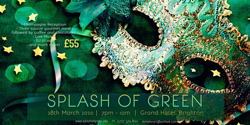 Splash of Green Charity Ball