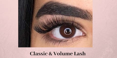 Effortless 10 Classic & Volume Lash Extension Training Raleigh June 30 tickets