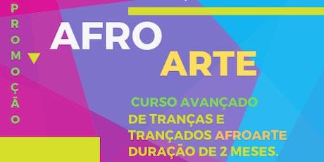 Escola de tranças e alongamentos Afro Arte ingressos