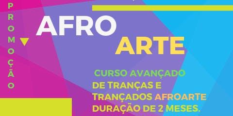 Escola de tranças e alongamentos Afro Arte