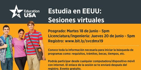 Estudia en EEUU: Sesiones virtuales biglietti
