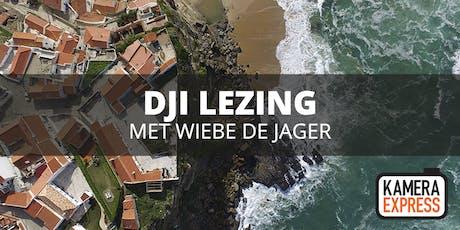 Lezing DJI met Wiebe de Jager tickets