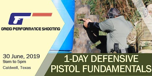 1-Day Defensive Pistol Fundamentals - DYMANIC MUNTIONS AMMO DEAL