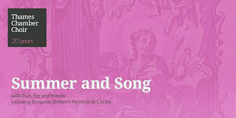 Thames Chamber Choir: Summer and Song tickets