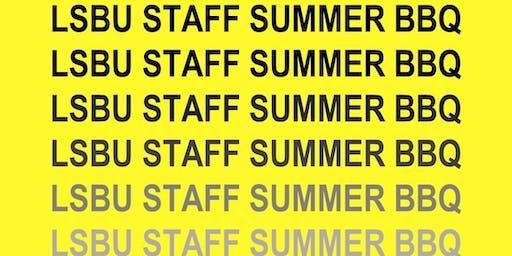 Annual LSBU Staff Summer BBQ