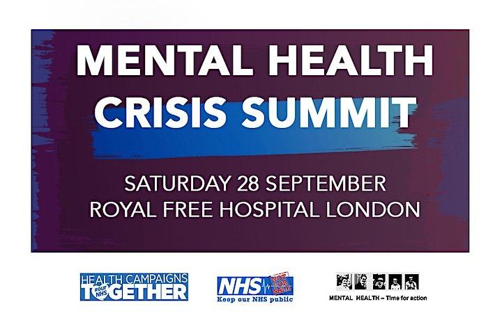 Mental Health Crisis Summit image