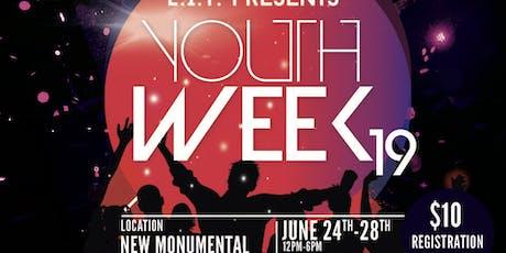 NMBC Youth Week tickets