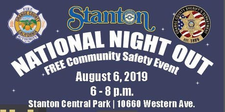 National Night Out & Concert tickets