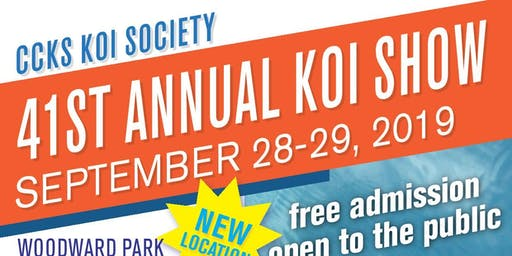 41st Annual Central California Koi Society koi show