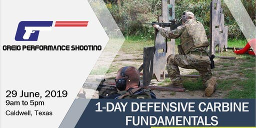 1-Day Defensive Carbine Fundamentals - DYNAMIC MUNTIONS AMMO DEAL