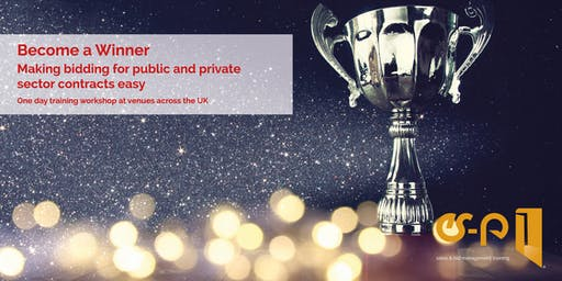 Become a Winner: making bidding for public & private sector contracts easy