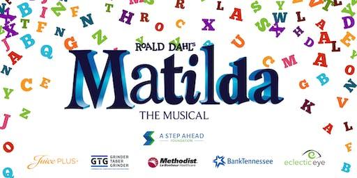 Matilda the Musical- Change Her Destiny Fundraiser