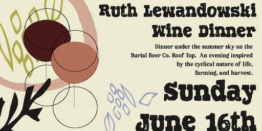 Ruth Lewandowski Wine Dinner
