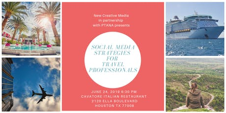 Social Media Strategies for Travel Professionals tickets