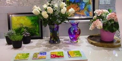 Alcohol Ink Painting Social