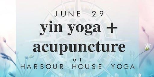 Yin Yoga & Acupunture
