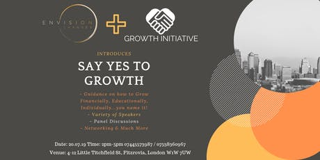 Say Yes To Growth! tickets