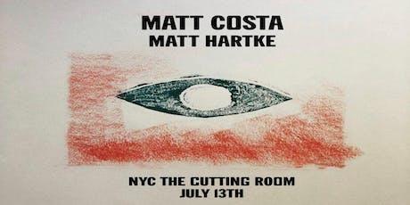 Matt Costa with Matt Hartke tickets