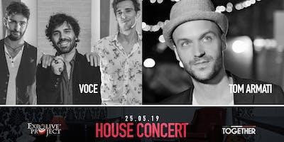 House Concert - VOCE + Tom Armati