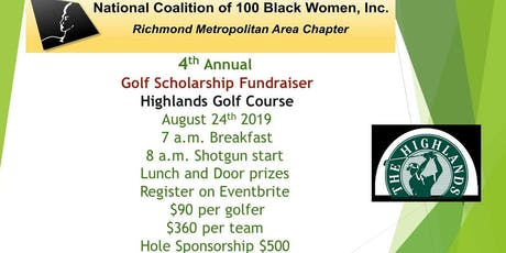 NCBW RMAC 2019 Scholarship Golf Tournament tickets