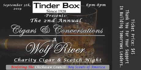 A Night of Cigars and Conversations.  tickets