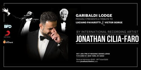 Tribute to Luciano Pavarotti & Victor Borge by Jonathan Cilia Faro tickets