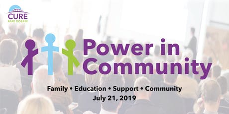 Cure Rare Disease: Power in Community Conference tickets