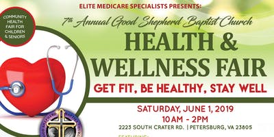 The Good Shepherd Baptist Church Health & Wellness Fair