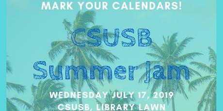 CSUSB Summer Jam tickets