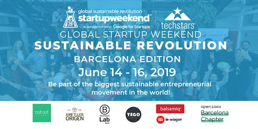 Global Startup Weekend Sustainable Revolution - Barcelona Edition