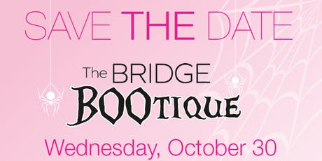The Bridge BOOtique 2019 tickets