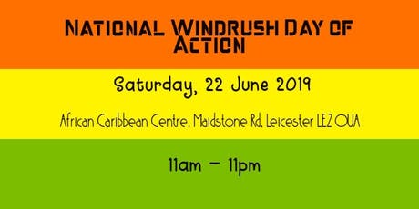 National Windrush Day of Action tickets