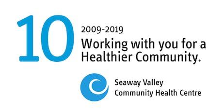 Seaway Valley Community Health Centre's 10-Year Anniversary Celebration tickets