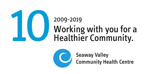 Seaway Valley Community Health Centre's 10-Year Anniversary Celebration