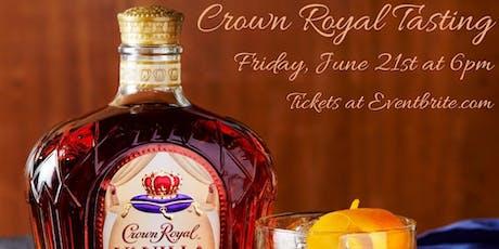 Mugsy's Crown Royal Tasting tickets