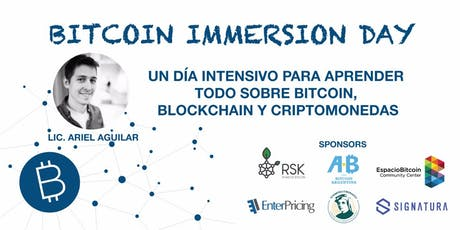 Bitcoin Immersion Day entradas