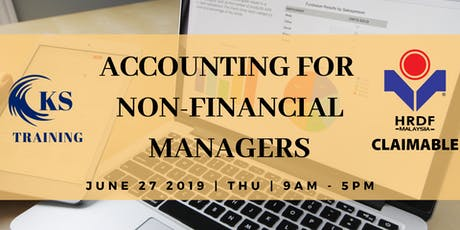 Accounting for Non Financial Person: Learn Finance in One-Day [KL Course] tickets