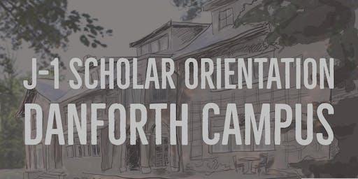 J-1 Scholar Orientation: Danforth Campus