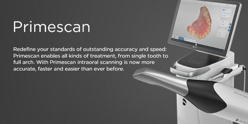 Primescan demo and Tips and Tricks to become an Omnicam Scanning Expert