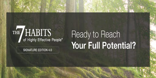 The 7 Habits of Highly Effective People Workshop