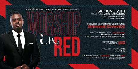 Worship in RED tickets