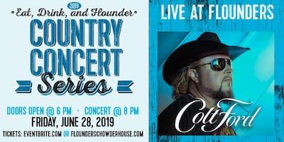 Colt Ford Live at Flounder's