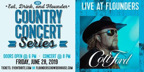 Colt Ford Live at Flounder's tickets