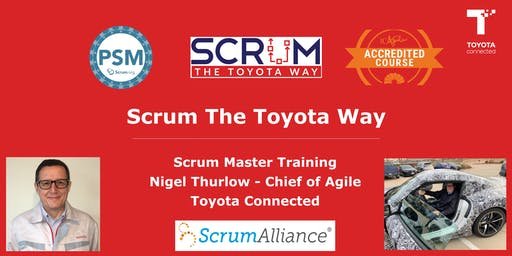 Scrum The Toyota Way Certified Scrum Class (PSM + ICAgile + Toyota + SEUs + PMI PDUs)