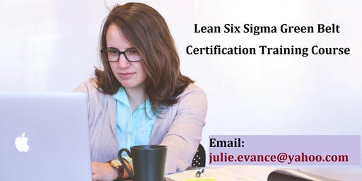 Lean Six Sigma Green Belt (LSSGB) Certification Course in Boulder, CO