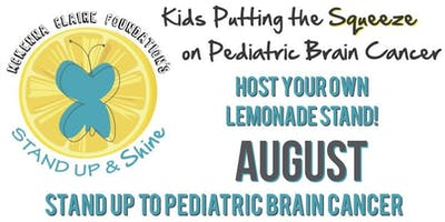 MCF Stand Up & Shine 2019   LEMONADE STANDS   AUGUST 1-31