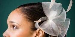 Horsehair / Crinoline Freeform Fascinator Cocktail Hat Making Workshop
