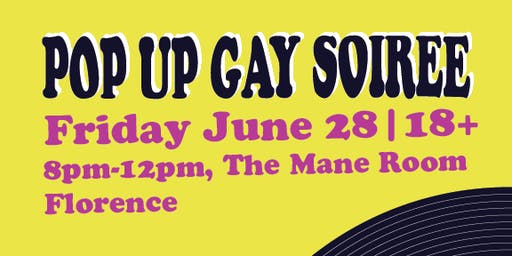 Pop Up Gay Soiree