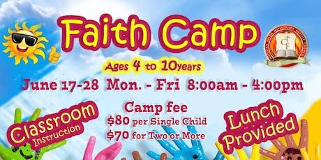 Faith Camp tickets
