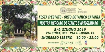 Festa d'estate Orto Botanico 8/9 giugno